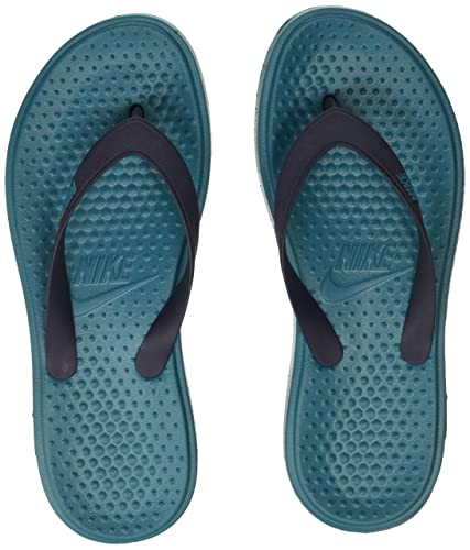 d6e47f43c88 Nike Men s SOLAY Thong Blustery Obsidian Flip Flops Sandals-10 UK 45 Euro (