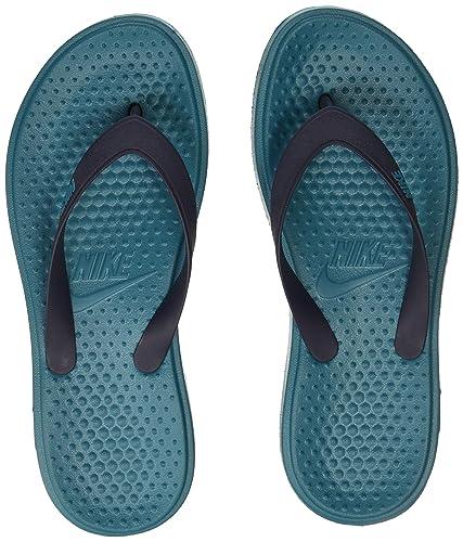 baea3a7581eb8 Nike Men s SOLAY Thong Blustery Obsidian Flip Flops Sandals-10 UK 45 Euro (
