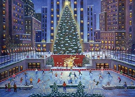 89796504ead Amazon.com  Ravensburger NYC Christmas 1000 Piece Jigsaw Puzzle for ...