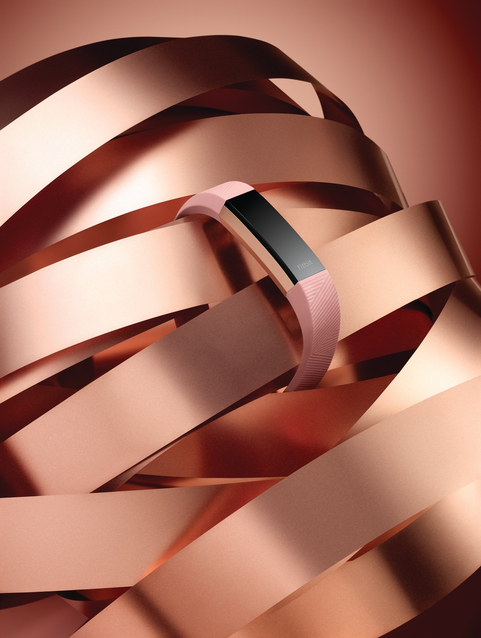 Fitbit Alta HR, Special Edition Pink Rose Gold, Large (US Version) by Fitbit (Image #7)