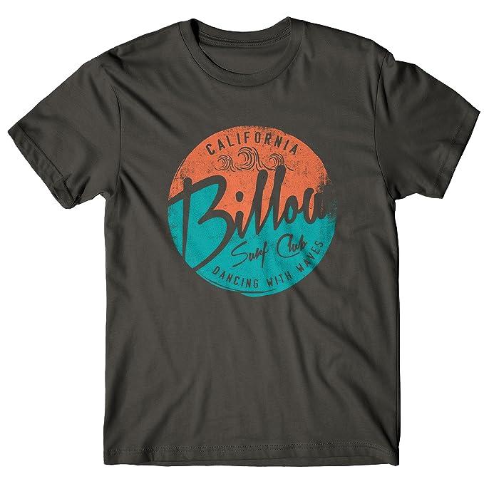 Camiseta Hombre Billow Surf Club - Camiseta 100% algodòn LaMAGLIERIA, S, Gris