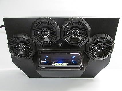 Amazon.com: SD 894BBT4B -Polaris RZR 800 & 900 4-seater Stereo ... on