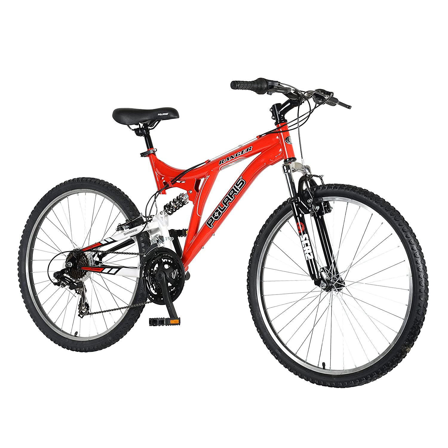 Polaris Ranger Full Suspension Mountain Bike 26 Inch