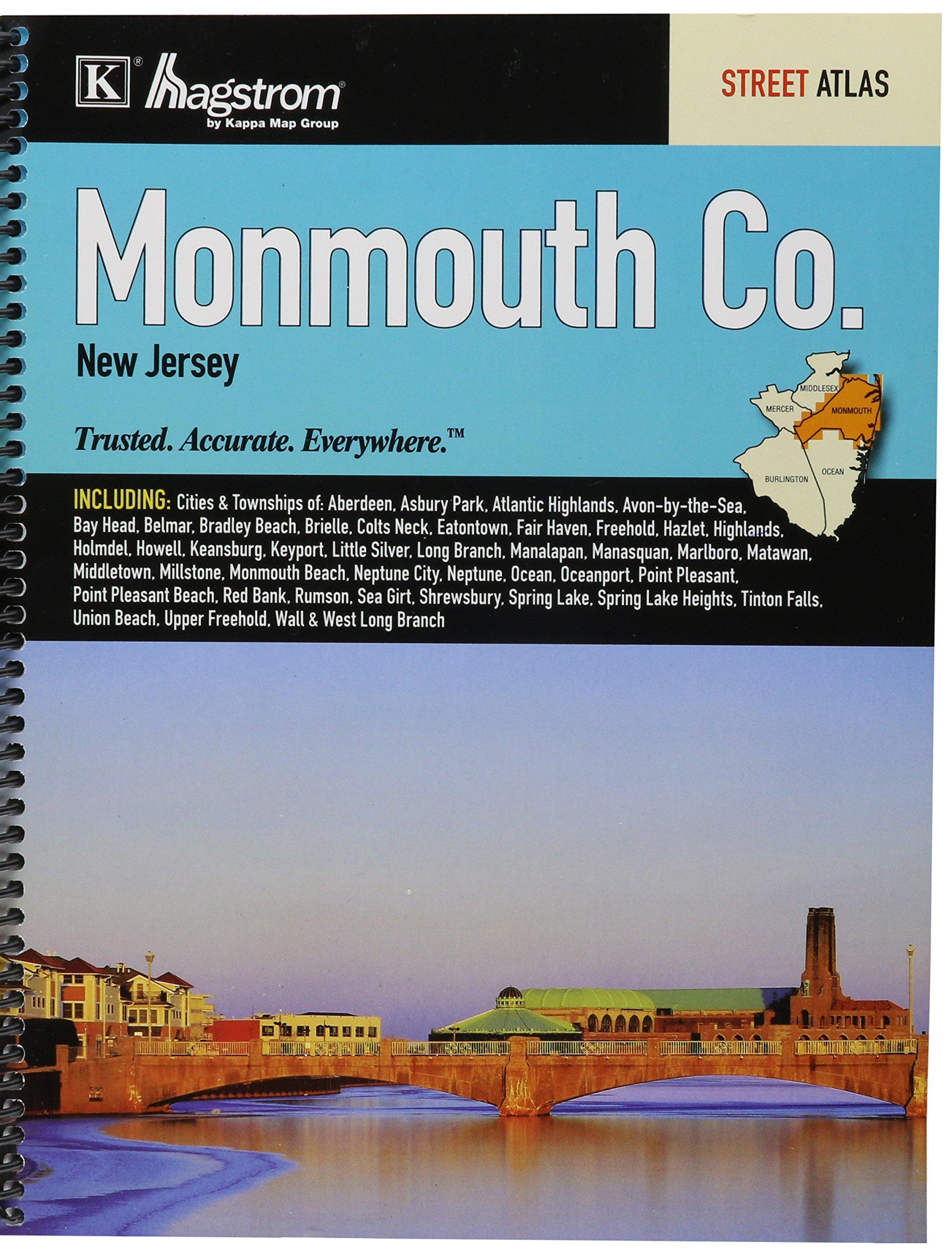 Monmouth County NJ Street Atlas product image