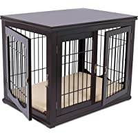 Dog crates furniture style Wayfair Internets Best Wood Wire Dog Crate With Cushion Amazoncom Amazoncom Most Wished For Items Customers Added To Wish Lists And