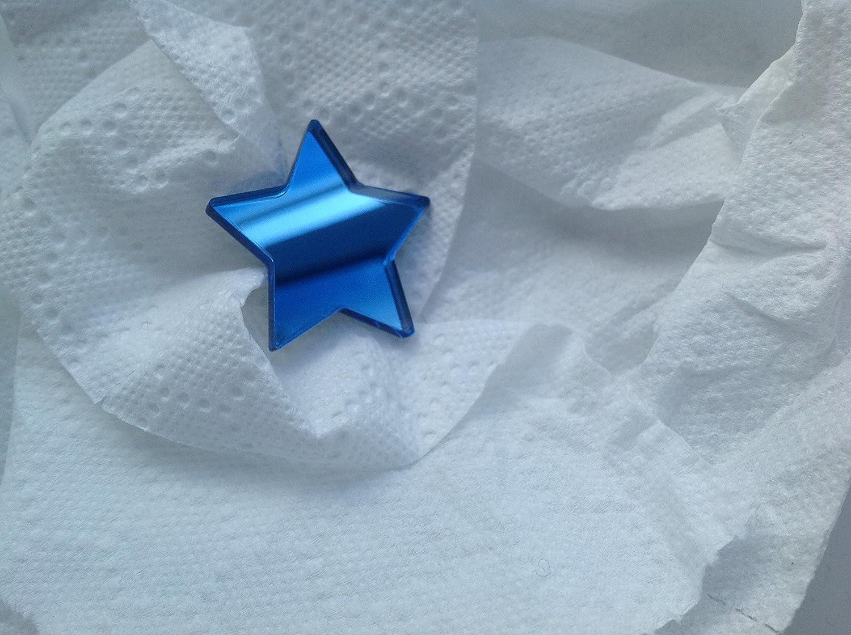 Espejo de acrílico en forma de estrella Adornos X 20 2cm