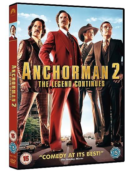 Anchorman 2 The Legend Continues Edizione: Regno Unito Italia ...