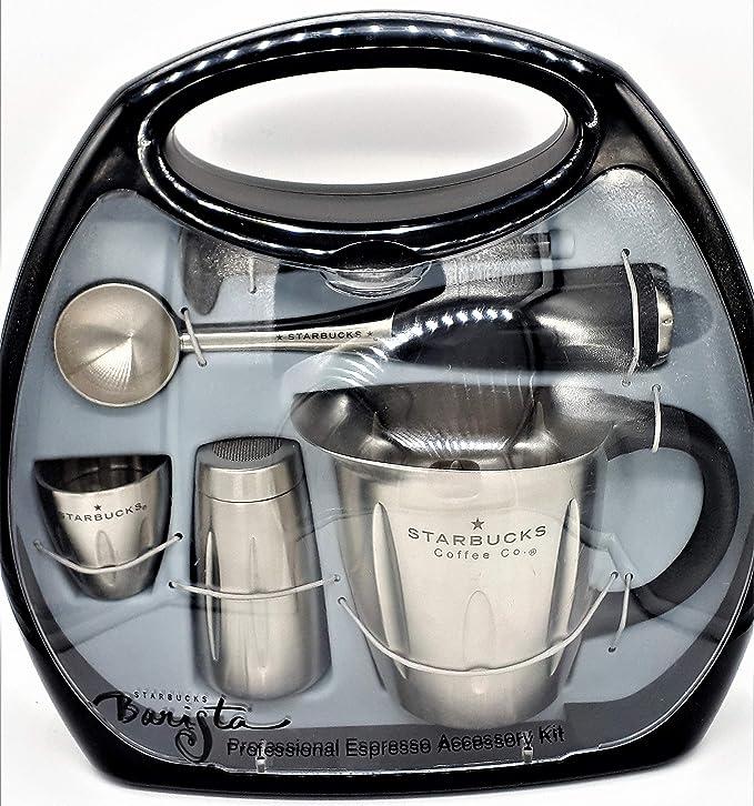 Amazon.com: Starbucks Barista Espresso profesional kit de ...