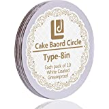 8-Inch Cake Circle, 10-Pack