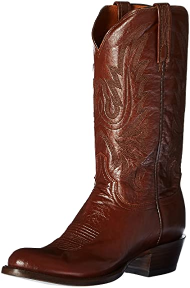 new undefeated x look good shoes sale Lucchese Men's Carson Leather Cowboy Boot