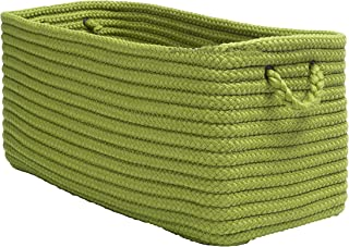 "product image for Colonial Mills Modern Farmhouse Home Basket, 16""x8""x10"", Pistachio"