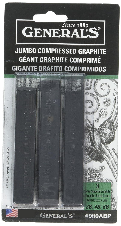 General's Jumbo Graphite Sticks (3 Pack) General' s® Pencil 980ABP