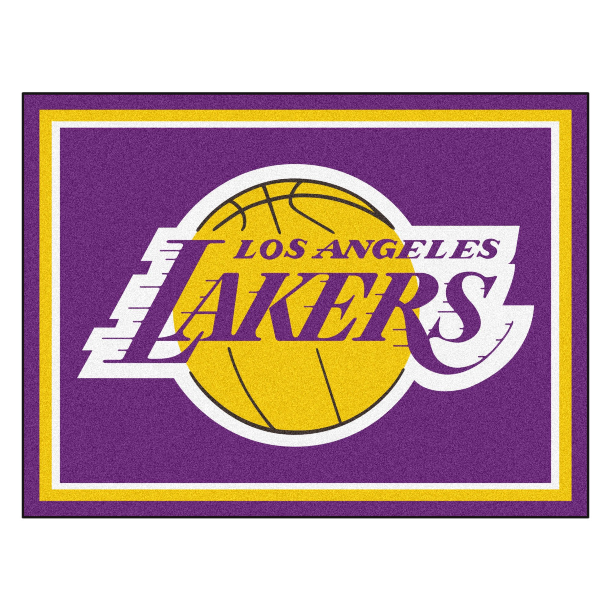 FANMATS 17455 NBA Los Angeles Lakers Rug by Fanmats