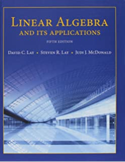 Linear Algebra And Its Applications 5th Edition David C Lay