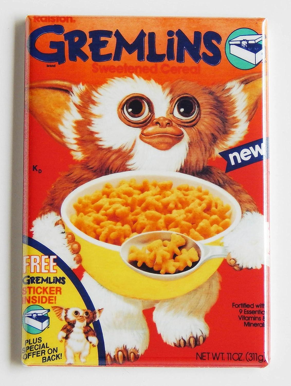 Gremlins caja de cereales imán para nevera (2,5 x 3,5 cm): Amazon.es: Hogar