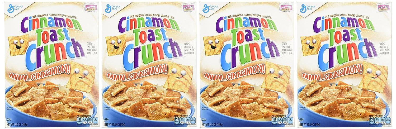 Cinnamon Toast Crunch Cereal - 12.2 oz: Amazon.es: Alimentación y bebidas