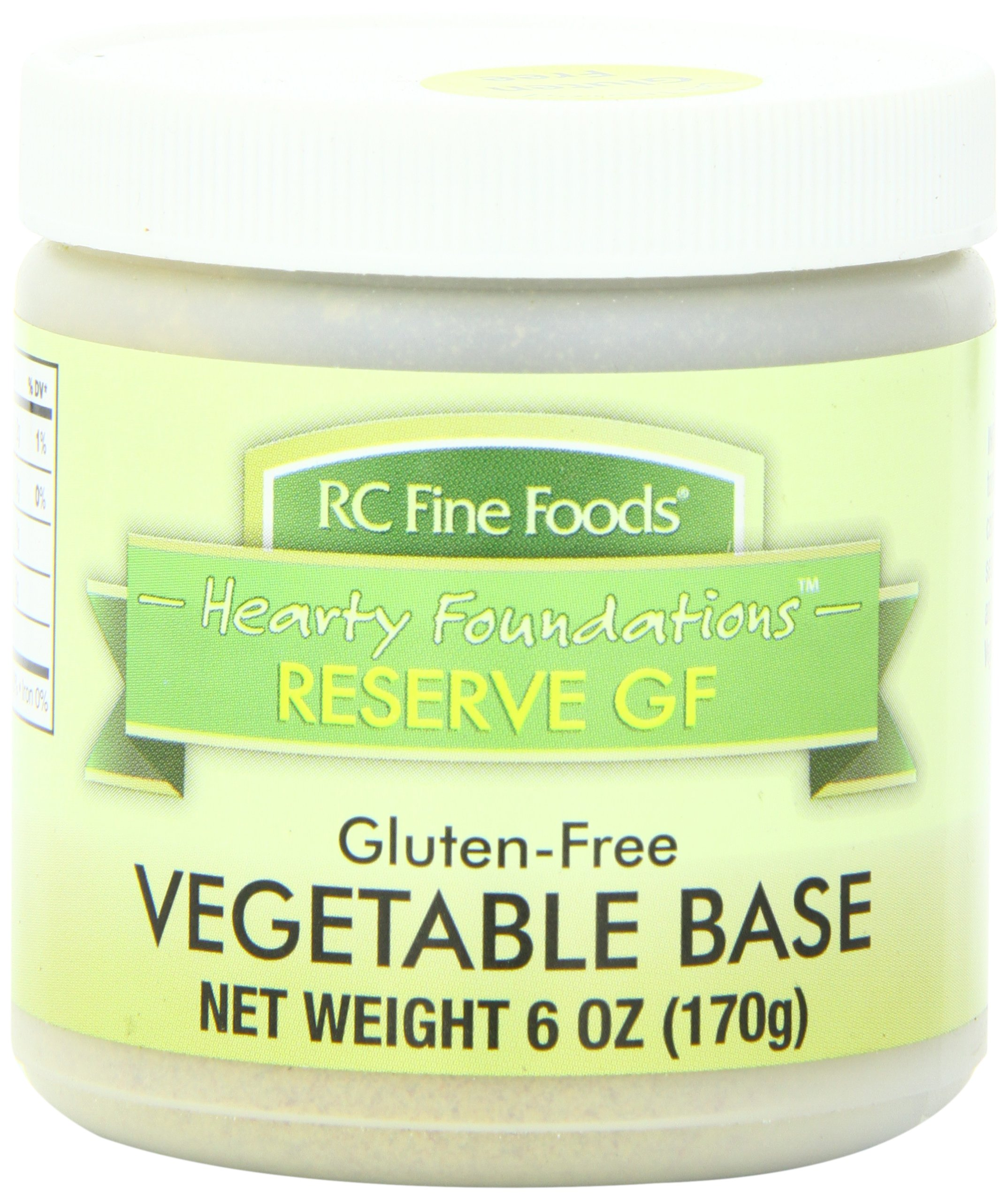 RC Fine Foods Hearty Foundations Reserve Gluten Free Soup Base, Vegetable, 6 Ounce