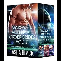 Stargazer Alien Mail Order Brides: Collection #1 (Intergalactic Dating Agency) (Stargazer Alien Mail Order Brides: Collections)