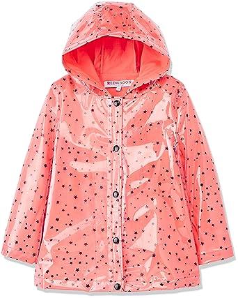 ca2e0dd73e RED WAGON Mädchen Regenmantel mit Sternenmuster: Amazon.de: Bekleidung