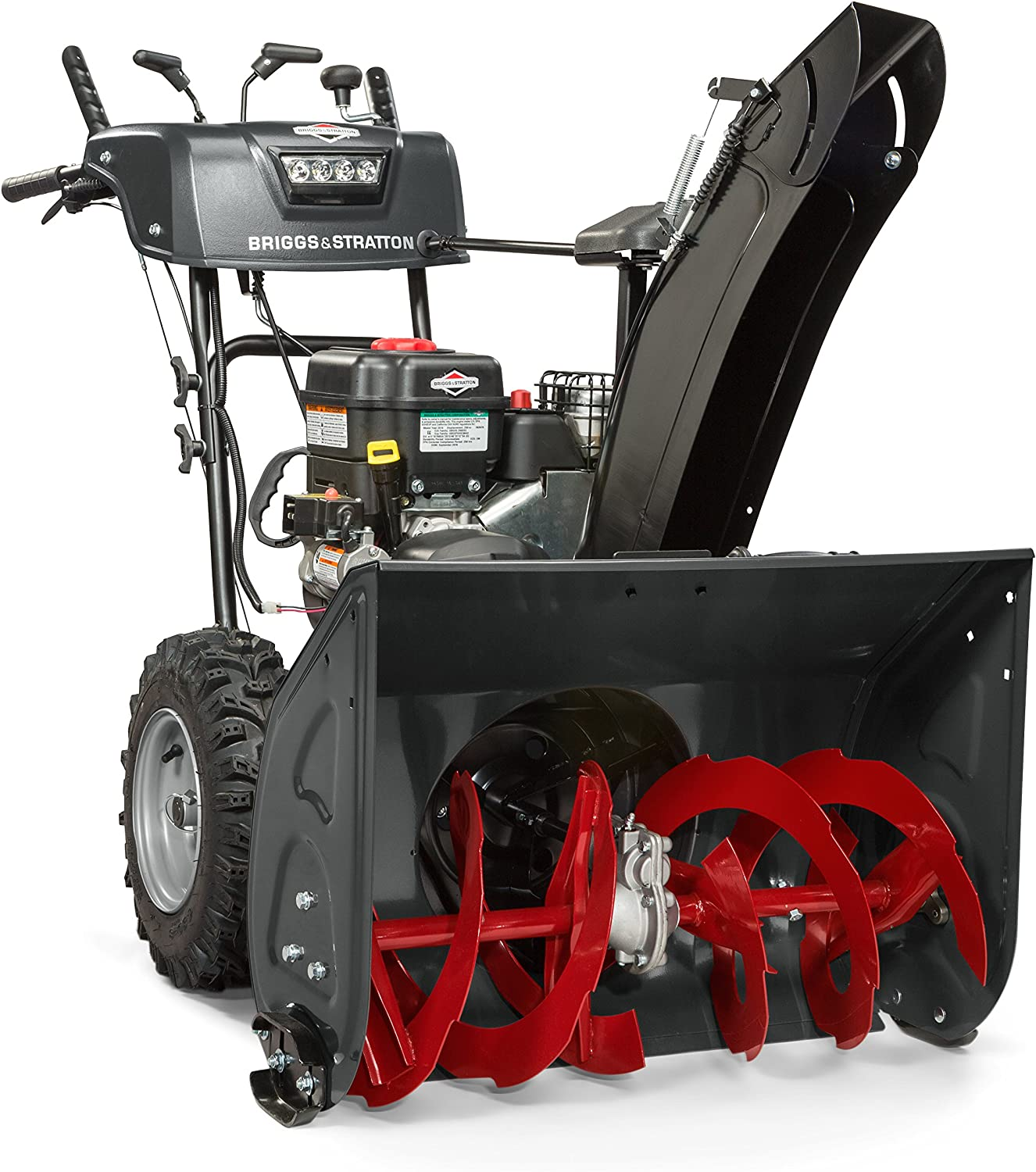 "27"" Dual-Stage Snow Blower w/ Heated Hand Grips, Electric Start, and 250cc Snow Series Engine"