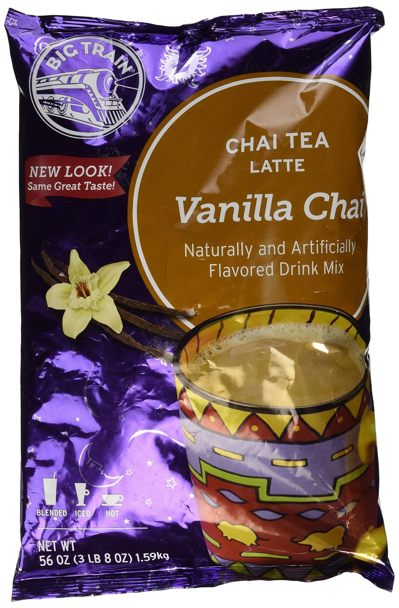 Big Train Chai - Vanilla Chai (3lb 8oz Bulk Bag) by Big Train