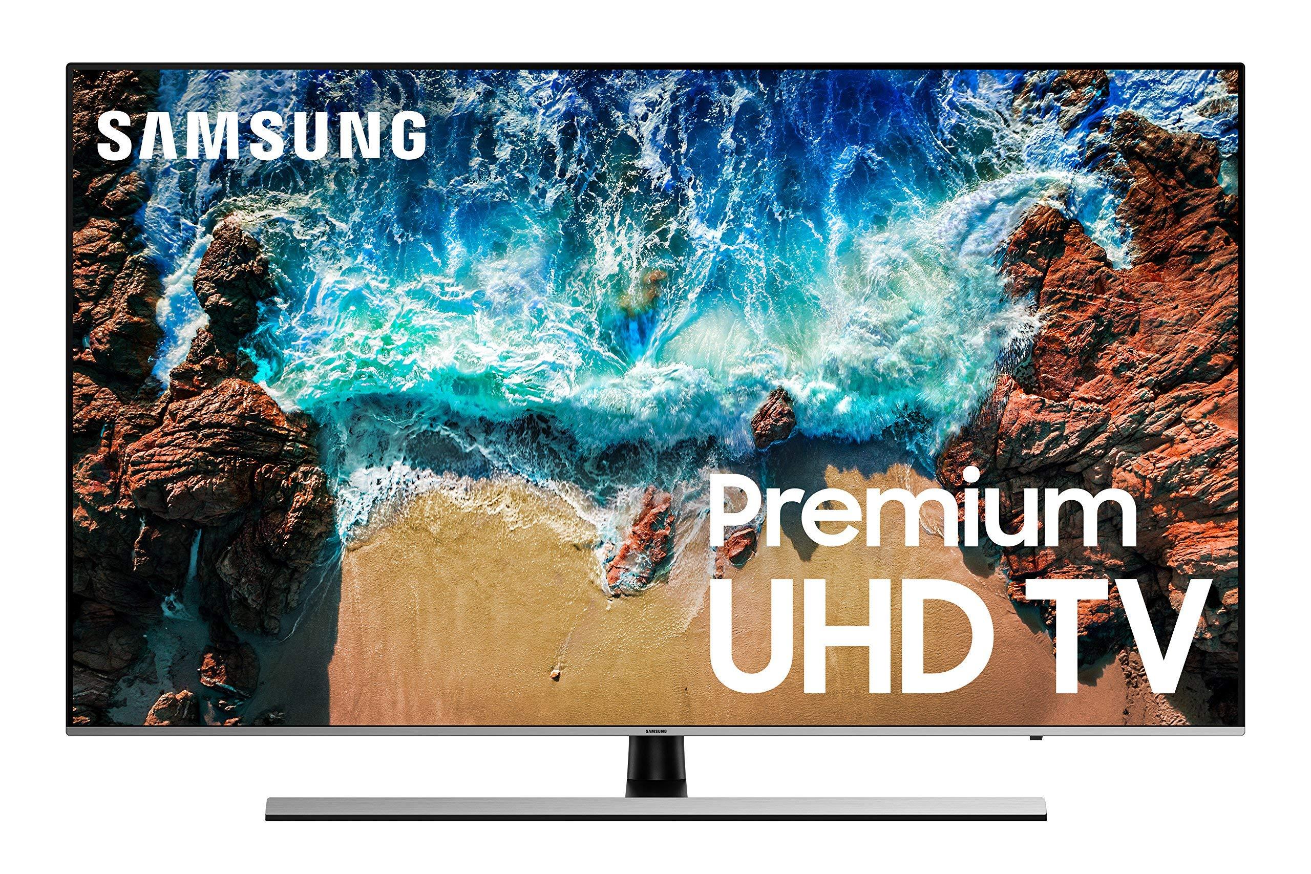 Samsung UN65NU8000 / UN65NU800D Flat 65'' 4K UHD 8 Series Smart LED TV (Renewed)
