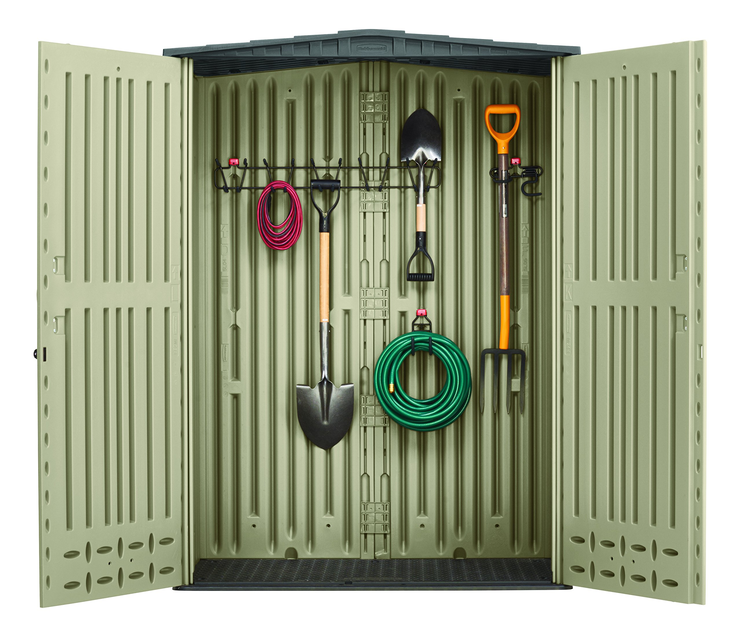 Rubbermaid Storage Shed Storage Hooks and Rack Accessories, 3-Piece Set (1825046) by Rubbermaid (Image #2)