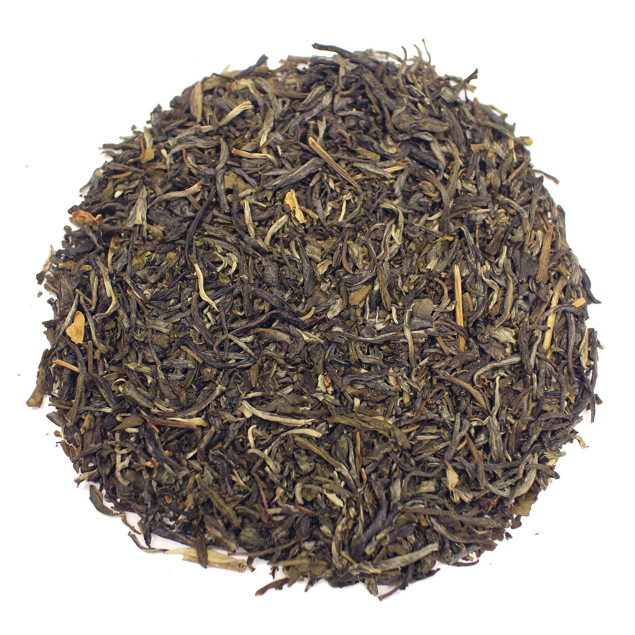 The Tea Farm - Jasmine Mao Feng White Tea - Chinese Loose Leaf White Tea (16 Ounce Bag) by The Tea Farm