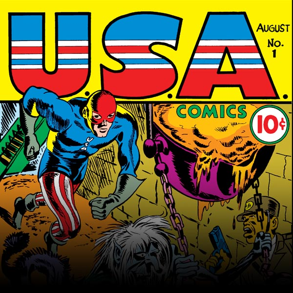 Used, USA Comics (1941-1945) (Issues) (8 Book Series) for sale  Delivered anywhere in USA