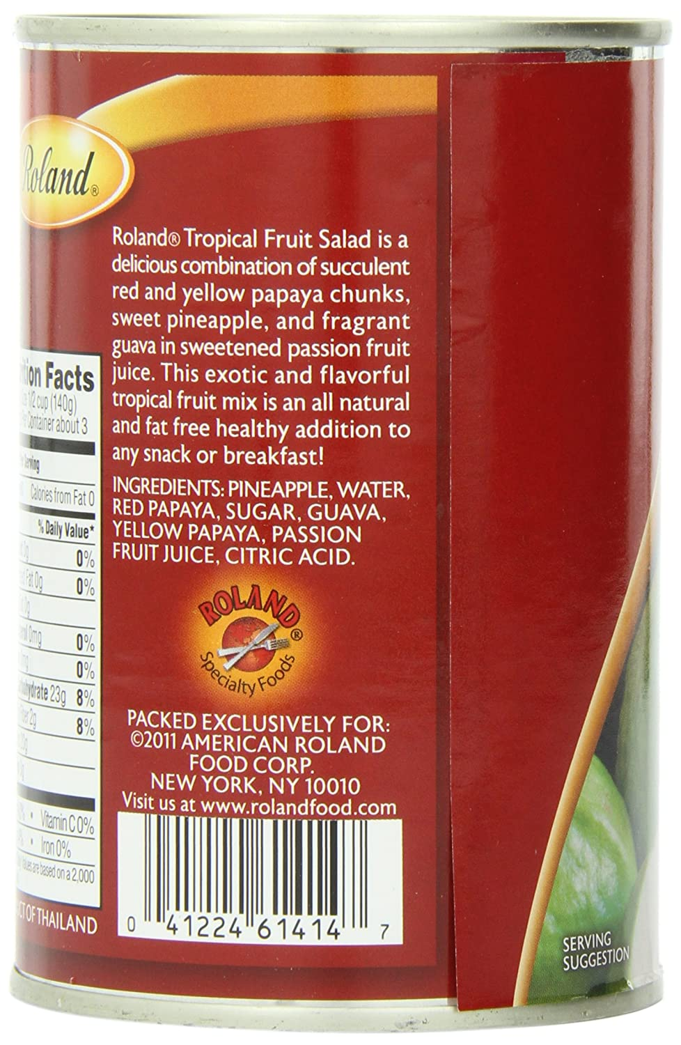 Amazon roland tropical fruit salad 15 ounce pack of 12 amazon roland tropical fruit salad 15 ounce pack of 12 canned and jarred mixed fruits grocery gourmet food ccuart Image collections