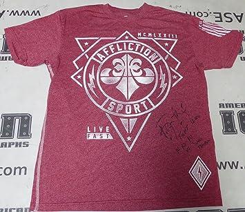 Bobby Lashley Signed Bellator 145 Fight Worn Used Walkout Shirt Coa