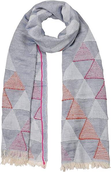 PASSIGATTI Bufanda Stick Jacquard pañuelo de mujer algodón: Amazon.es: Ropa y accesorios
