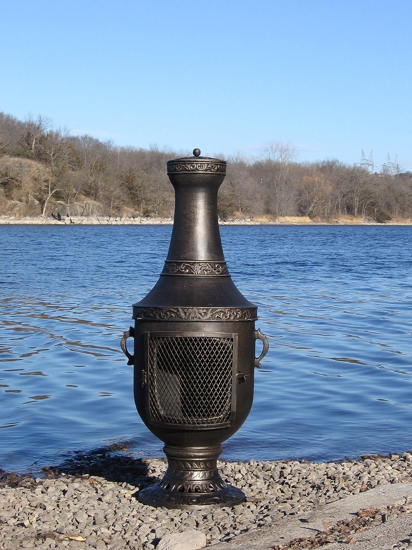 Best Cast Aluminum Chiminea Outdoor Fireplace Outdoor