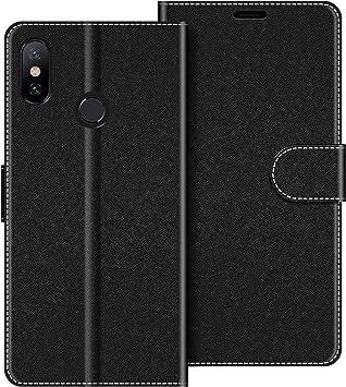 COODIO Funda Xiaomi Mi A2 con Tapa, Funda Movil Xiaomi Mi A2 ...