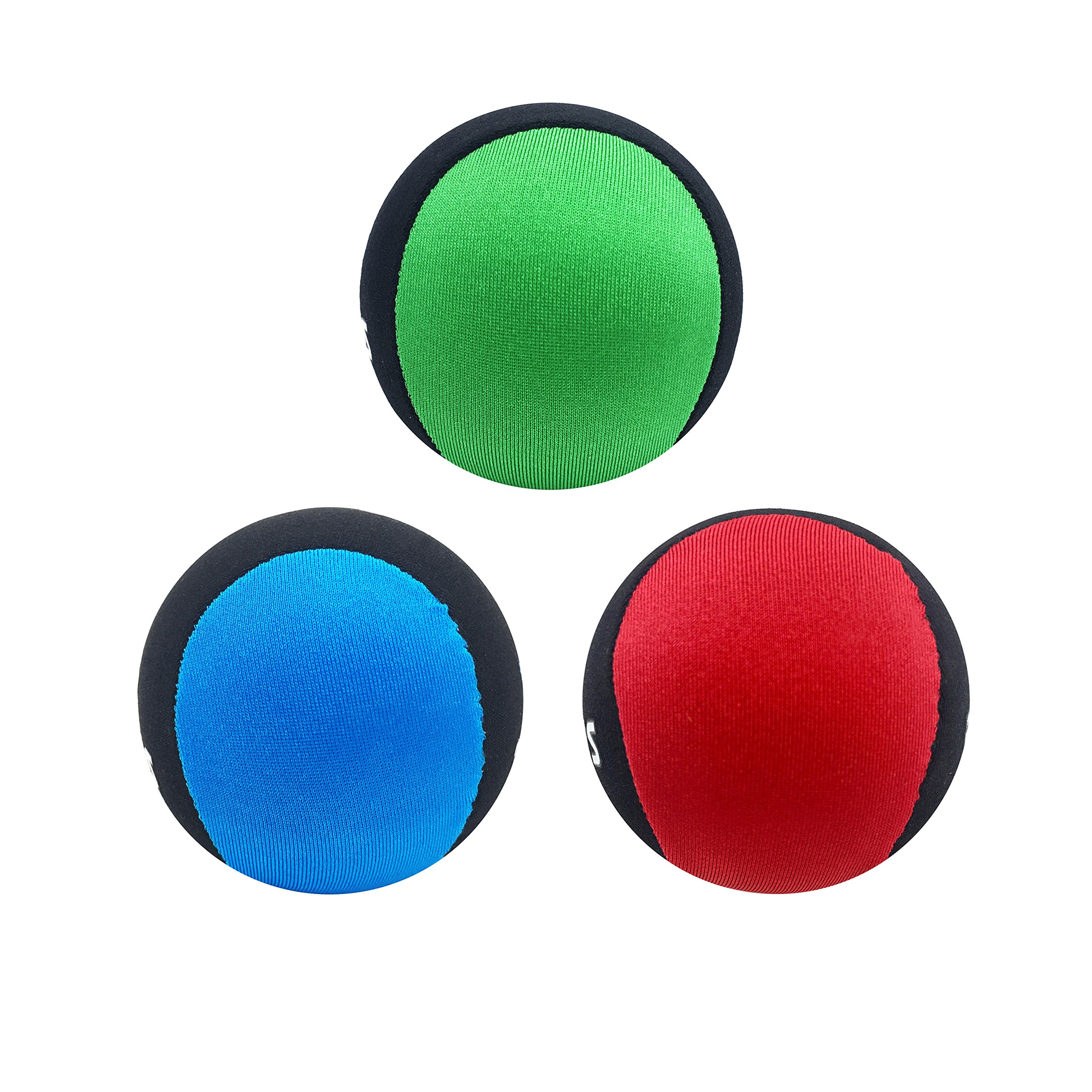 Silfrae Water Jumping Ball Surf Ball Water Bouncing Ball (Red&Green&Blue)