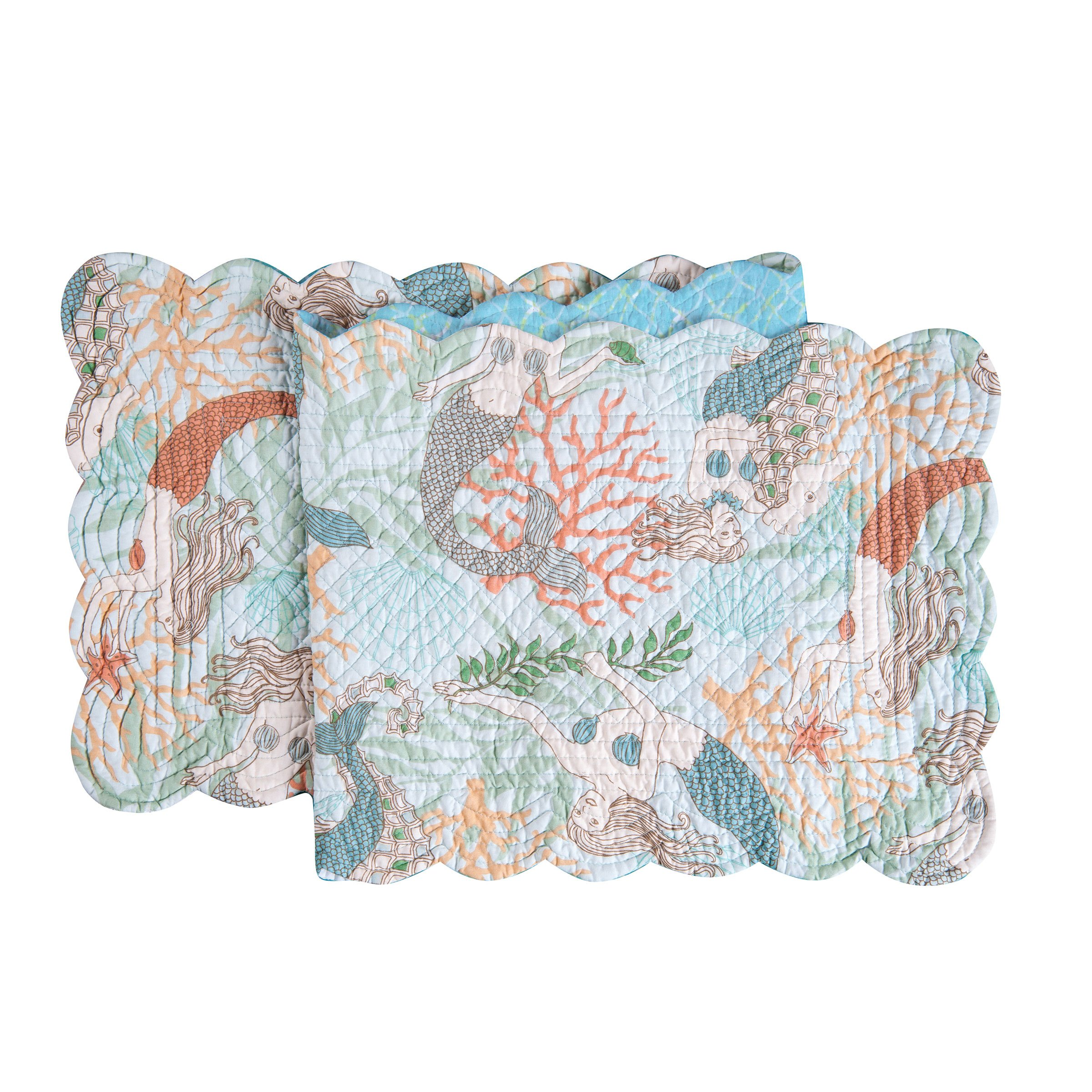 C&F Home 14x51,Dancing Waters Table Runner