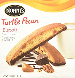 product image for NONNI'S Biscotti Turtle Pecan 6.88 Oz. Box of 8 Individually Wrapped Biscotti (2 Pack)