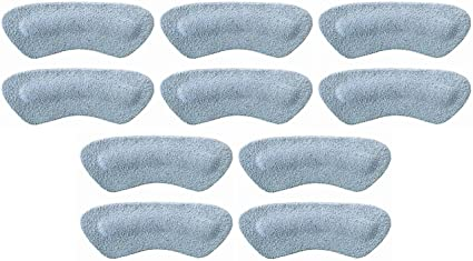 One Pair Gray Pedag Stop Padded Leather Heel Grips