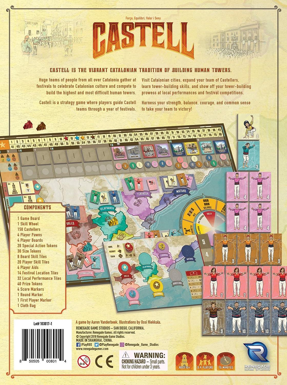 Renegade Game Studios Juego Castell RGS00801: Amazon.es: Juguetes ...