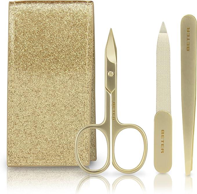 Beter Lady Gold - Estuche de manicura, color dorado brillante: Amazon.es: Salud y cuidado personal