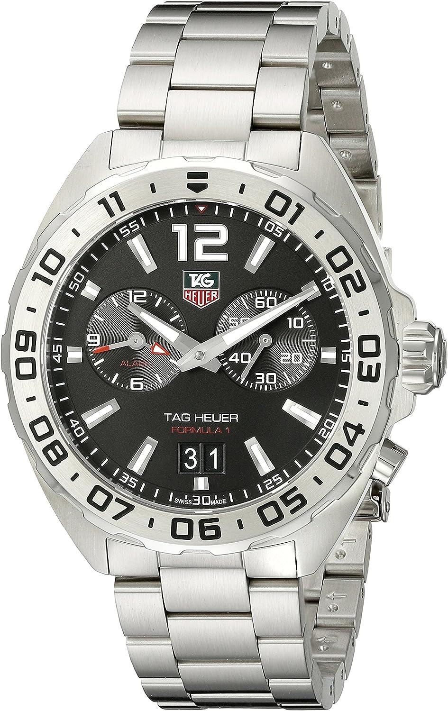 TAG Heuer Formula 1 Reloj de Pulsera para Hombre 41mm WAZ111ABA0875