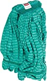 Rubbermaid Commercial Web Foot Microfiber Tube Mop, Large, Green, FGT81306GR00