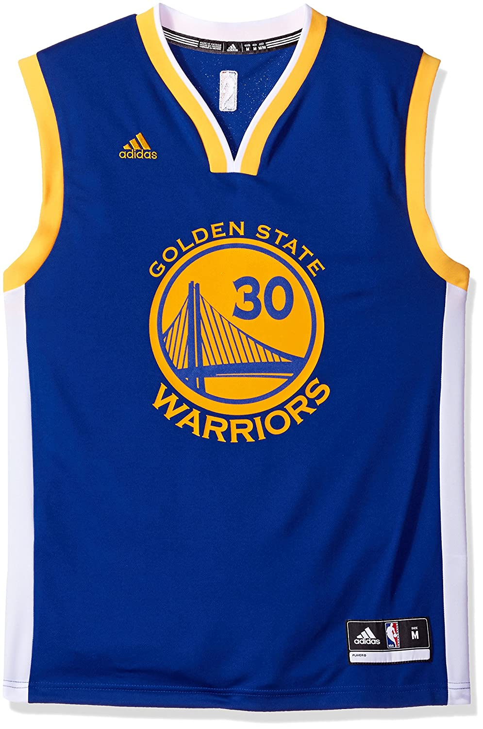 090616e88 Amazon.com   adidas Stephen Curry Golden State Warriors Revolution Replica  Jersey - XXL   Sports Fan Jerseys   Sports   Outdoors