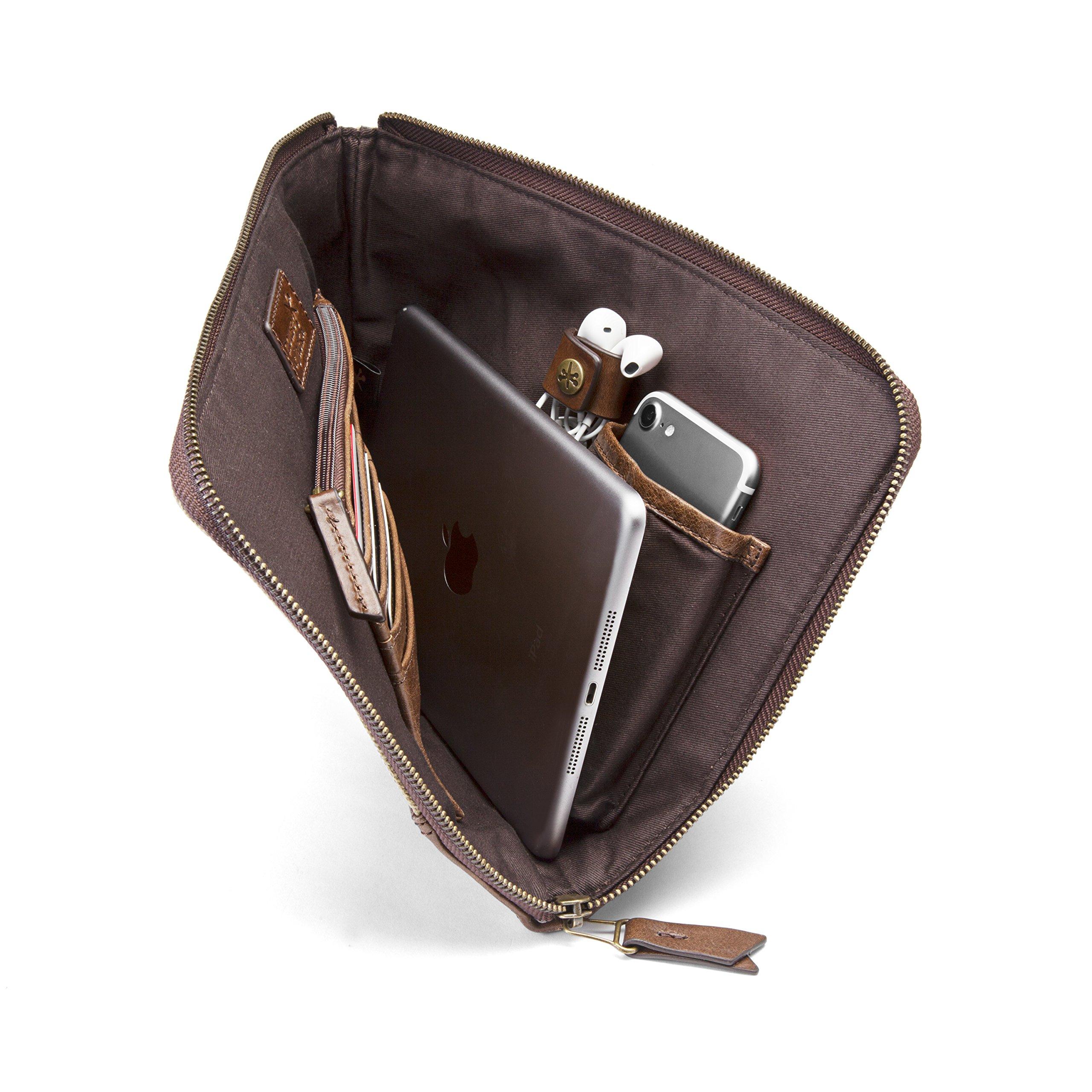 HOJ Co. TRAVEL ORGANIZER Bag-Tech Organizer-Travel Wallet-iPad Case-Travel Bag