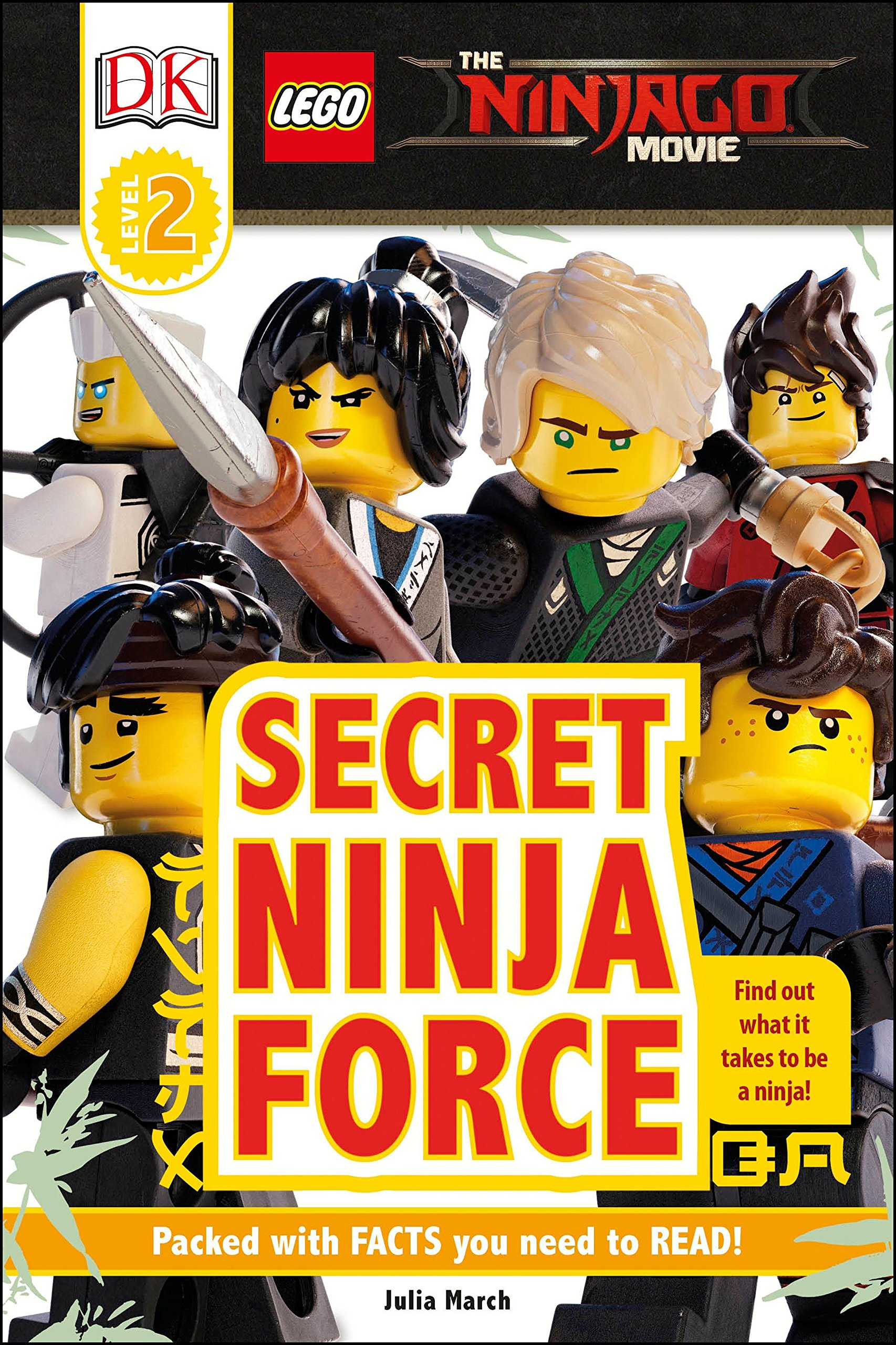 Amazon.com: DK Readers L2: The LEGO® NINJAGO® MOVIE : Secret ...
