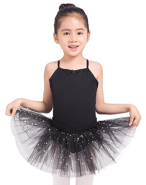 bfa7419838 Amazon.com: Dancina Girls Skirted Leotard Camisole Dress Ballet ...