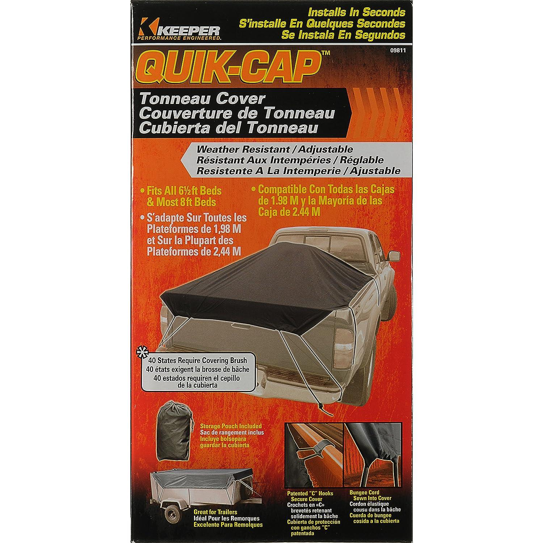 Keeper 09811 Quik-Cap Tonneau Cover