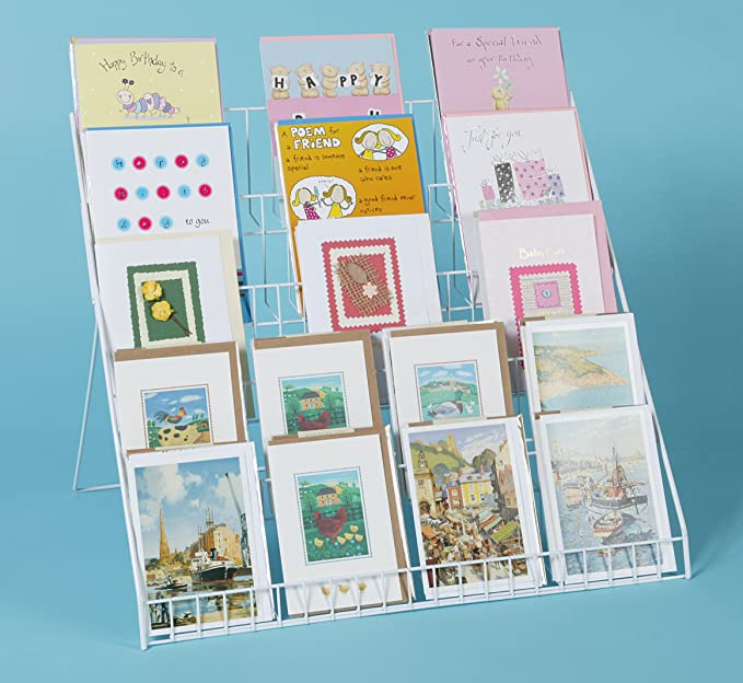 Stand-store Lightweight Collapsible Greeting Card Display Stand ...