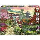 Puzzles Educa - Jardín japonés, puzzle de 3000 piezas (16019)
