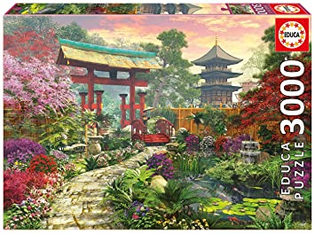Amazoncom Educa Japan Garden Puzzle 3000 Piece One Color